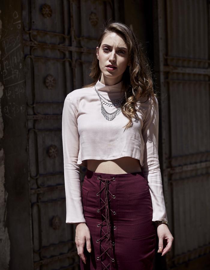 Imaima_SS18_Mey blouse_Yade skirt