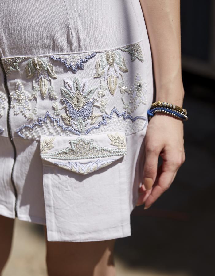 Imaima_SS18_Hand embroidered_niala skirt
