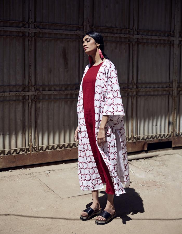 Imaima_SS18_sare kimono_abaya