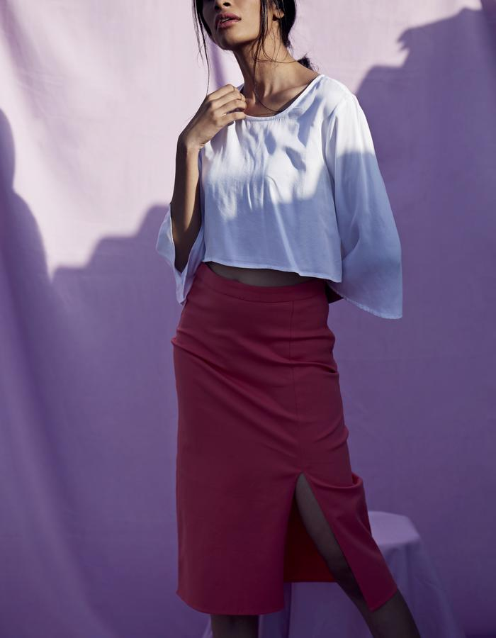 Imaima_SS18_Leyan blouse_Sefa skirt