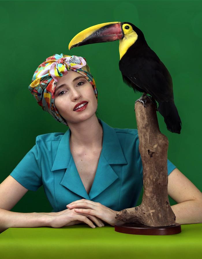 Le Voyage Magnifique by Fiona-K headscarf tropical